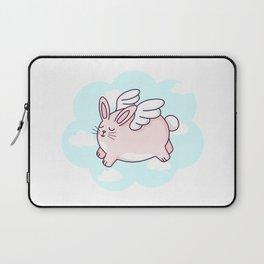 Flying Bunny Laptop Sleeve
