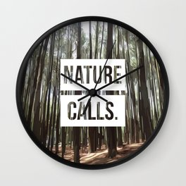 Nature Calls | 8 Wall Clock