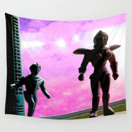 Beyond your world's sun Wall Tapestry