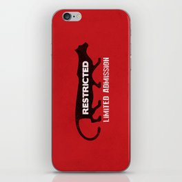 Restricted Cougar iPhone Skin