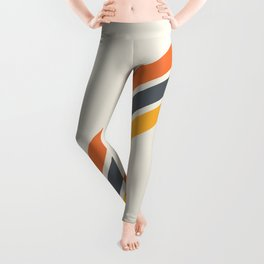 Classic Retro Stripes 03 Leggings