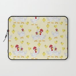 Chicken Family Neck Gator Rooster Hen Baby Chick Laptop Sleeve