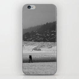 Walk Together iPhone Skin