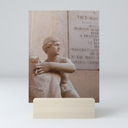 Statue 03 Mini Art Print