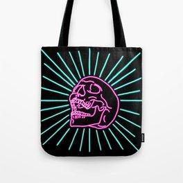 Pink Laughing Skull Tote Bag