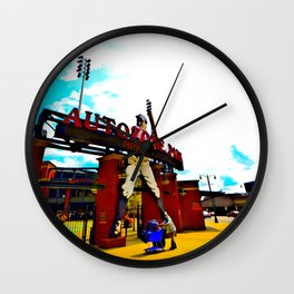 Memphis Redbirds Autozone Park Wall Clock