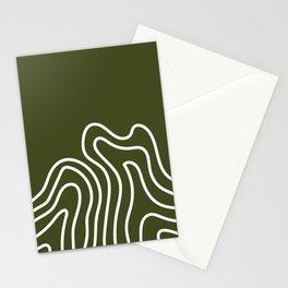 Leaf Thumbprint Stationery Cards