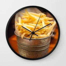 Golden Crisps Wall Clock