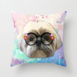 shizhu Dog 4 Throw Pillow