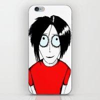 jack white iPhone & iPod Skins featuring Jack White by JonasHviid