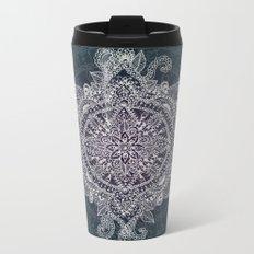 Mandala Magic  Metal Travel Mug