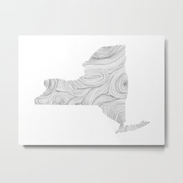 The State of Things: New York Metal Print