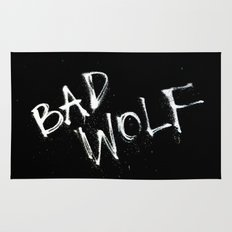 Doctor Who Bad Wolf Rug