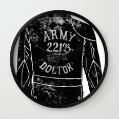 The Army Doctor Wall Clock