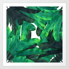 tropic green  Art Print