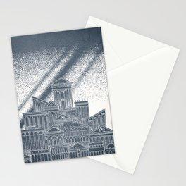 Saturn Celestial City Stationery Cards