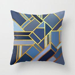 Art Deco Drops Of Jupiter Throw Pillow