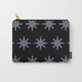 Celestial Snowflake Midnight Version (Blues and Purples) Carry-All Pouch