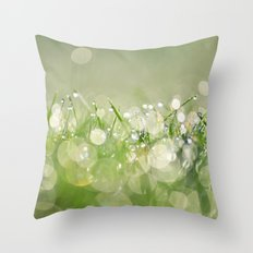 morning dew no.1 Throw Pillow