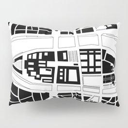 Île de la Cité. Paris Pillow Sham