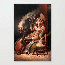 Demongate Canvas Print