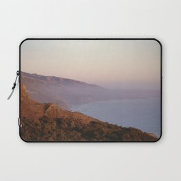 Sunset on the Ocean in Big Sur, California Laptop Sleeve