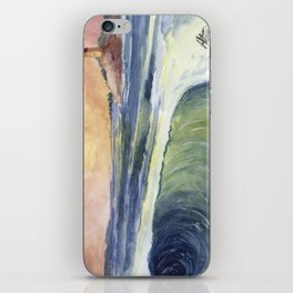 High Tide At Sunset iPhone Skin