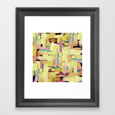 hands and foots Framed Art Print