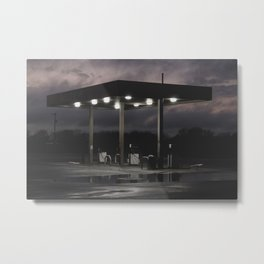 Louisiana Road Trip Metal Print