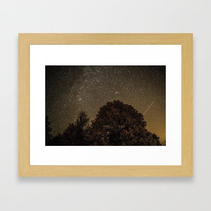 Starry Night Sky 2 Framed Art Print