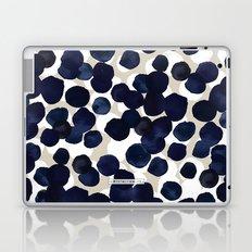 Indigo Velvet Dots Laptop & iPad Skin