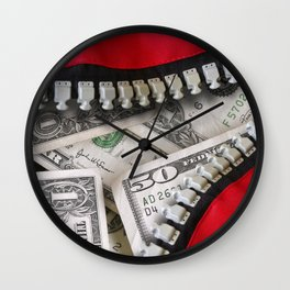 Money Bag Wall Clock