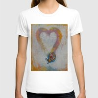 snail T-shirts featuring Snail by Michael Creese