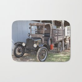 Old For Livestock Transport Bath Mat