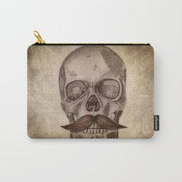 Skull Mustache Carry-All Pouch