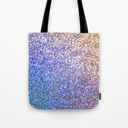 Purple Ombre Glitter Tote Bag