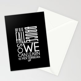 Why Do We Fall, Bruce? Stationery Cards