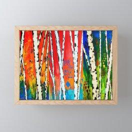 Birch Framed Mini Art Print