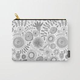 heart fleur mono Carry-All Pouch