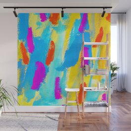 FLY - Colorful Painting Wall Mural