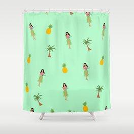 Hula Girls Shower Curtain