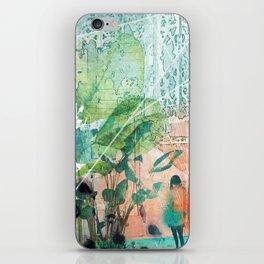 ArchiCollage - Secret Garden iPhone Skin