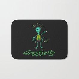 Greetings (color) Bath Mat