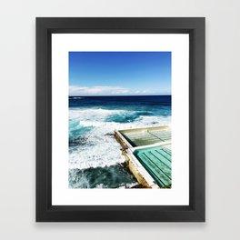 Bondi Beach Icebergs, Sydney Framed Art Print