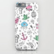 Tattoos Pink iPhone 6s Slim Case