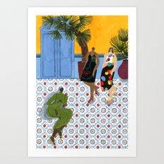 Mara Hoffman Fall 17 Art Print