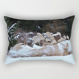 Ornamental Grass Rectangular Pillow