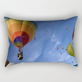 colorul balloons Rectangular Pillow
