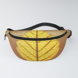 The golden leaf Fanny Pack