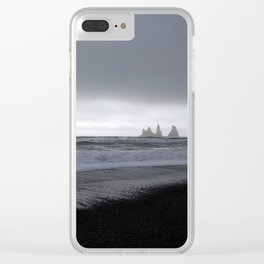 Solitary Confinement Clear iPhone Case